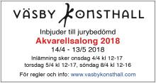 Inbjudan till  jurybedömd Akvarellsalong 2018