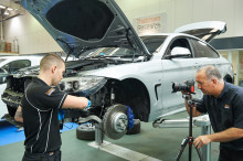 Improved online repair methods to meet the needs of the crash repair sector