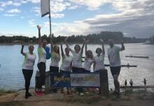 In die Riemen gelegt: AbbVie unterstützt Benefizregatta 'Rudern gegen Krebs'