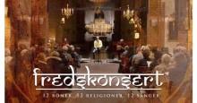 """KLIMATET OCH FREDEN. I Storkyrkan på måndag: 18.30 workshop med klimatexperten Pär Holmgren och prästen Gösta Tingström. 20.00 historisk fredskonsert med  Peter Elmberg och musiker. """"12 böner. 12 religioner. 12 sånger"""" Fri entré."""