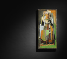 Cubist Work up for Auction in Copenhagen