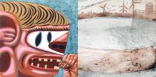 Emperor Of Ice Cream & Dark Satanic Mills – Leo Parks och Linus Krantz masterutställningar i konst