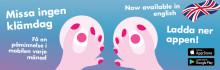 Livsviktig app lanseras nu även på engelska!