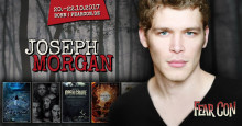 Joseph Morgan, Hollywood Chefvampir aus The Originals kommt zum Halloween Horror Event Fearcon nach Bonn