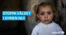 Stoppa våldet i Syrien nu!