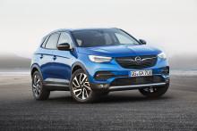 Euro NCAP ger fem stjärnor till nya Opel Grandland X