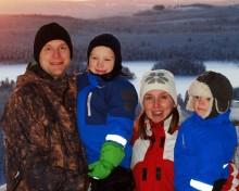 """De vann sagobröllopet i Ramundberget """"En fjälldröm med skidor som går i uppfyllelse"""""""