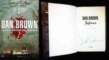 Signert utgave av Dan Browns Inferno på TV-aksjonen