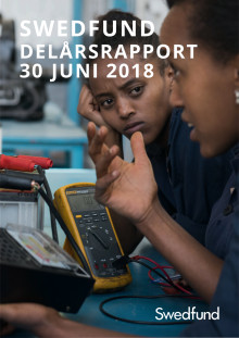 Swedfund delårsrapport april-juni 2018