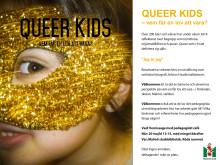 Pressinbjudan: QUEER KIDS – vem får en lov att vara?