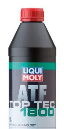 Liqui Moly lanserar Top Tec ATF 1800, en ny växellådsolja för automatväxlar