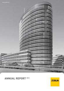 Annual Report ZÜBLIN (2012)