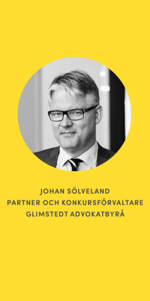 Konkurser i vindkraft - möt advokat Johan Sölveland