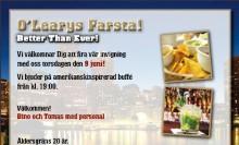 Pressinbjudan -  Invigning av O'Learys Farsta Centrum