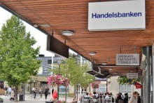 Jakobsbergs Centrum med ny enhetlig skyltning