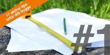 17 sköna tips inför ditt bygge – TIPS 1: PLANERING