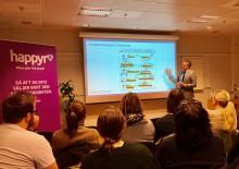 Happyr utbildar och inspirerar inför Sveriges första värdegrundsbaserade rekryteringsmässa