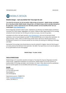 Mobilis Design – nytt varumärke från Tress Sport & Lek!