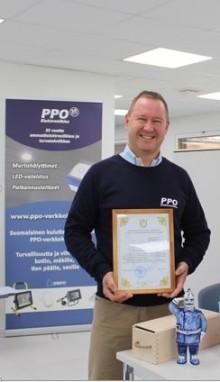 PPO-Elektroniikalle tunnustusta Venäjällä tekemästään paloturvallisuustyöstä