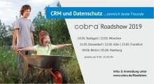 """cobra Roadshow """"CRM und Datenschutz... ziemlich beste Freunde"""" in Berlin"""