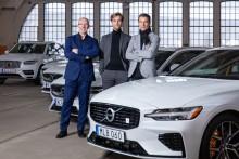Volvo Cars prisbelönta modellprogram visar att tre designers är bättre än en