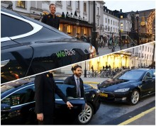 WeRide och Jernhusen gör utsläppsfri taxi tillgängligt vid Stockholms Centralstation