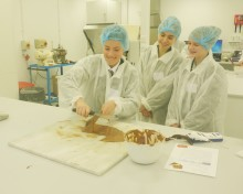 Reading pupils become food scientists for a day