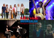 Nu släpper vi artisterna till Folk & Världsmusikgalan: Uruppförande, jämställt och internationellt på galan…