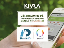 Seminarium om Swish & Mobilt BankID