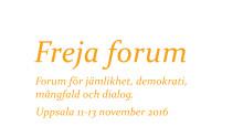 Freja Forum 2016 i Uppsala