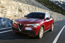 Goodyears Eagle F1 Asymmetric 3 SUV Ultra-High Performance-dæk valgt af Alfa Romeo til den nye Stelvio
