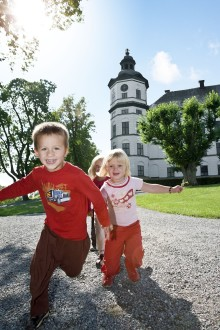 Skoklosters slott i semestertider