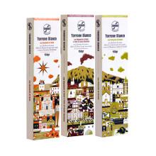 Ekologisk torronenougat enligt Slow Foods principer  med smaker och designinspiration från Sicilien