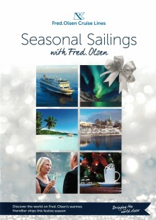 Enjoy 'Seasonal Sailings' with Fred. Olsen this Christmas and New Year!