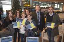 Rekordfamilj bidrog till att Arlanda passerade 23 miljoner resenärer