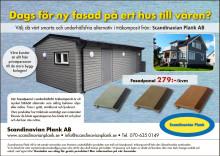 Fasadpanel från Scandinavian Plank AB