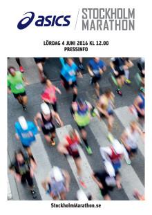 Fakta ASICS Stockholm Marathon 2016