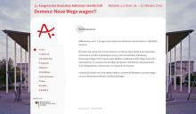"""11. Kongress der Deutschen Alzheimer Gesellschaft """"Demenz: Neue Wege wagen?!"""""""