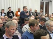 Många engagerade deltagare vid LRF Östergötlands regionstämma 2017