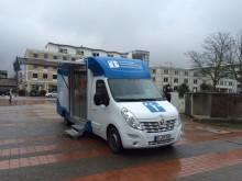 Beratungsmobil der Unabhängigen Patientenberatung kommt am 11. Oktober nach Wolfsburg.