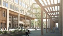 Sjukhuset sticker opp med två nya byggnader