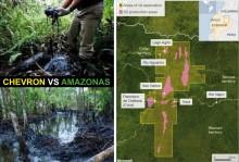 """Svenska AP-fonderna har investerat 4,2 miljarder i ett av världens största miljöbrott. Möt de drabbade från """"Chevron vs Amazonas"""" på torsdag och fredag i Stockholm."""