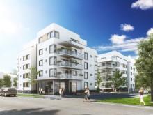 Första spadtaget för gröna bostäder, mitt i Linköping