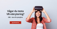 För första gången i Sverige: VR-rekrytering av säljare!