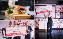 Sebastian Segers burgare bäst i Scandic Burger Challenge – Leif Mannerström och Klara Lind i juryn