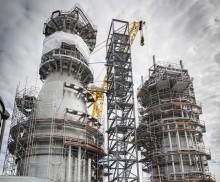 Sveriges största industriprojekt är byggt med hjälp av SSG Standarder