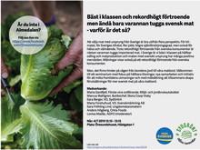 För mer hållbar mat med svenskt ursprung i Almedalen
