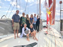 Saltwater Stone supports Pip Hare  in Vendée Globe bid