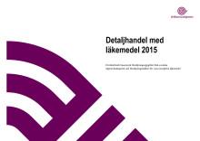 Detaljhandel med läkemedel 2015, årsrapport