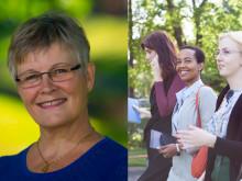 Maud Olofsson talar på Women with impact